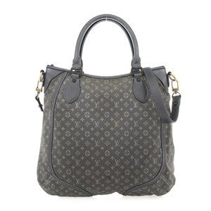 Louis Vuitton Mini Lin Besace Angele Bag Pewter